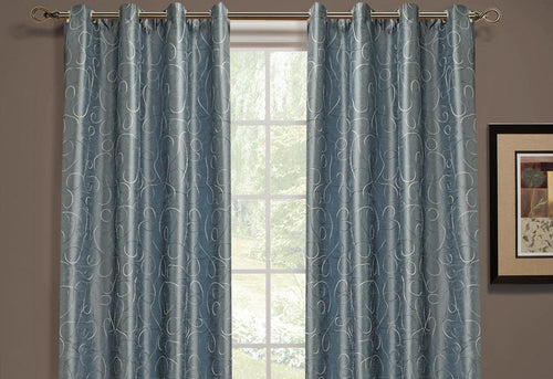Scribbles Window Curtains