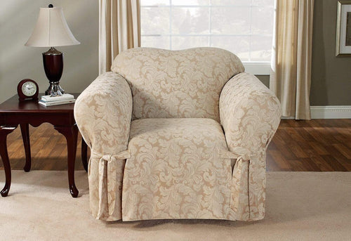 Scroll One Piece Chair Slipcover