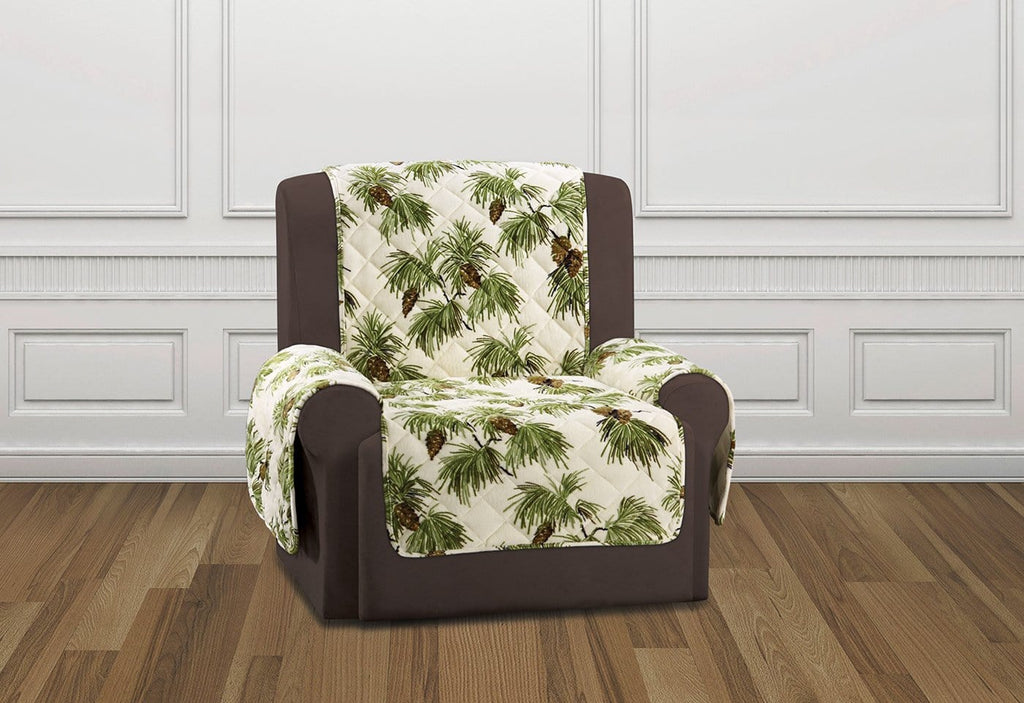 Holiday Recliner Furniture Cover Pinecone Recliner