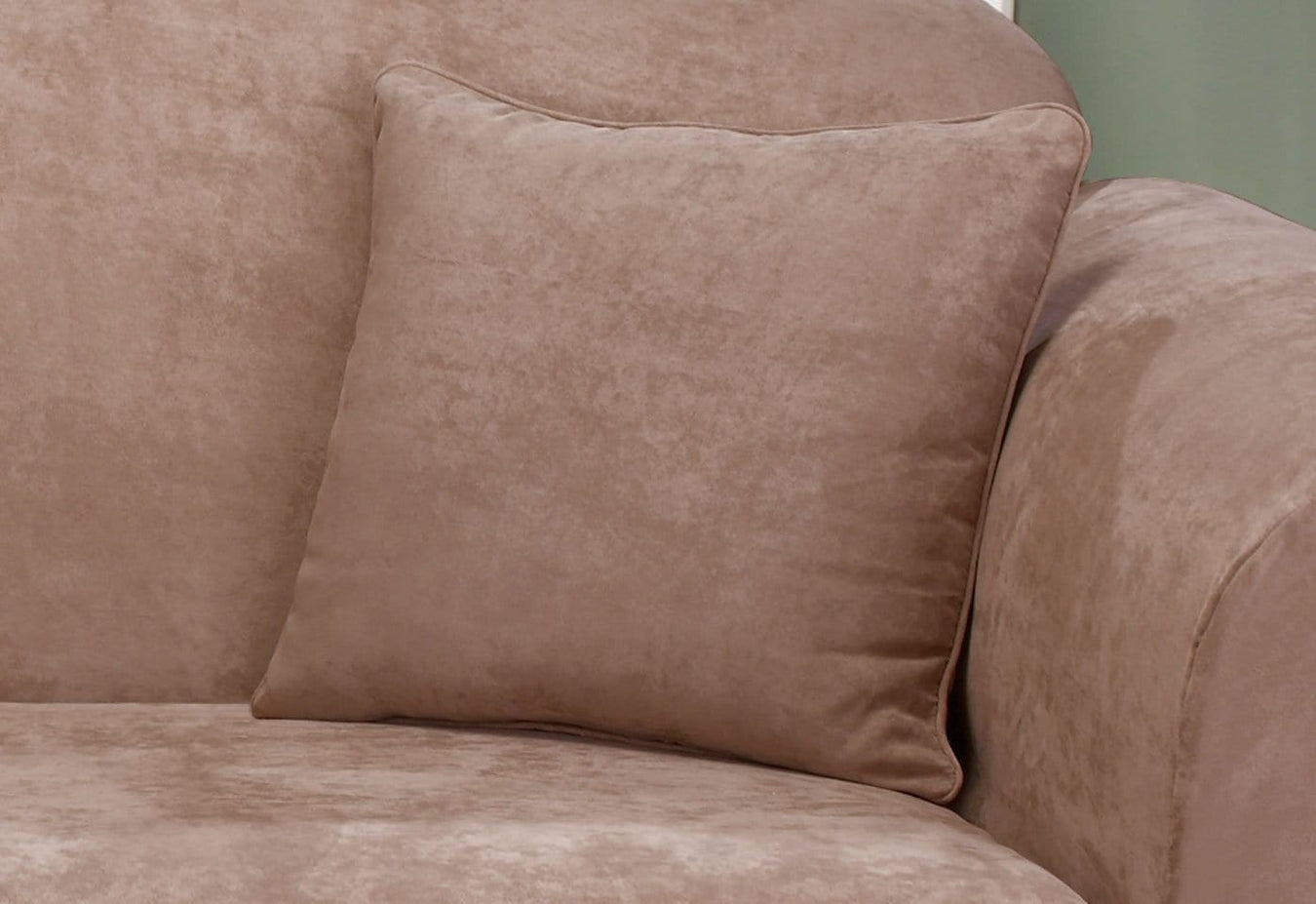 Soft Suede 18 Inch Square Coordinating Pillow