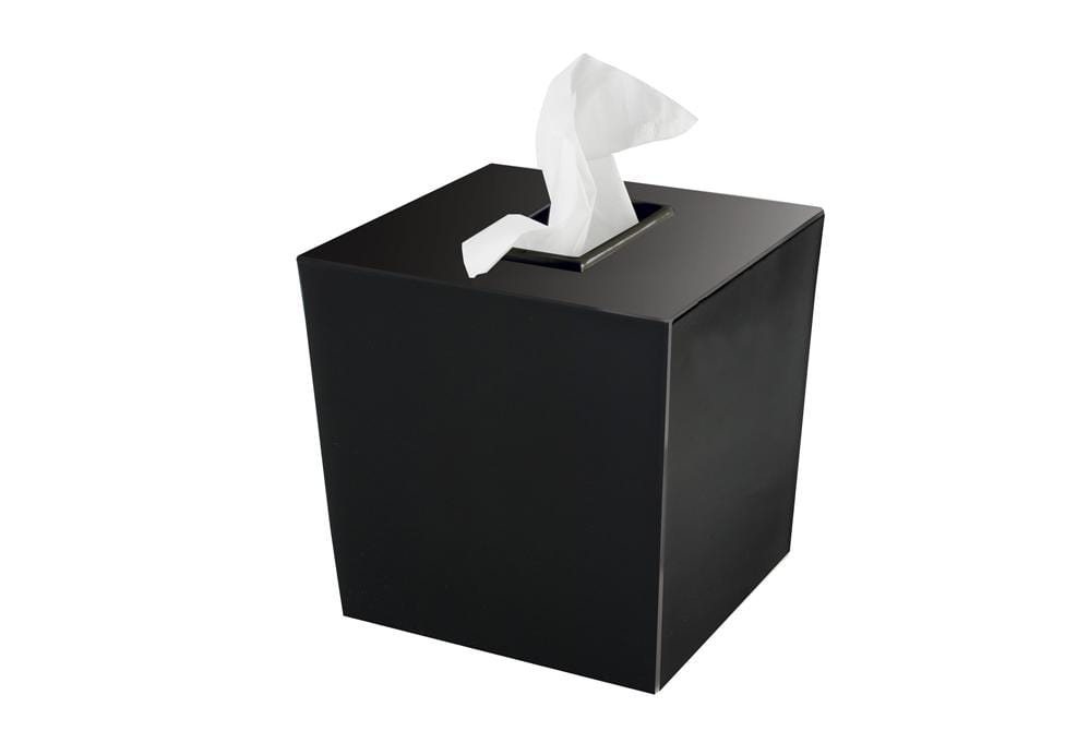 Spa Collection Tissue Cover - Black