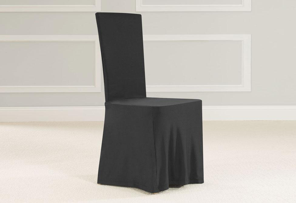 SureFit® Square Back Dining Room Chair Slipcover