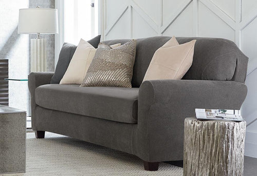 Stretch Metro Two Piece Sofa Slipcover