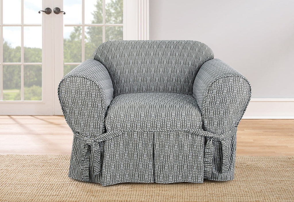 Strands By Waverly One Piece Chair Slipcover Surefit