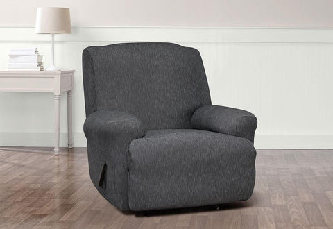 Stretch Denim One Piece Recliner Slipcover | SureFit