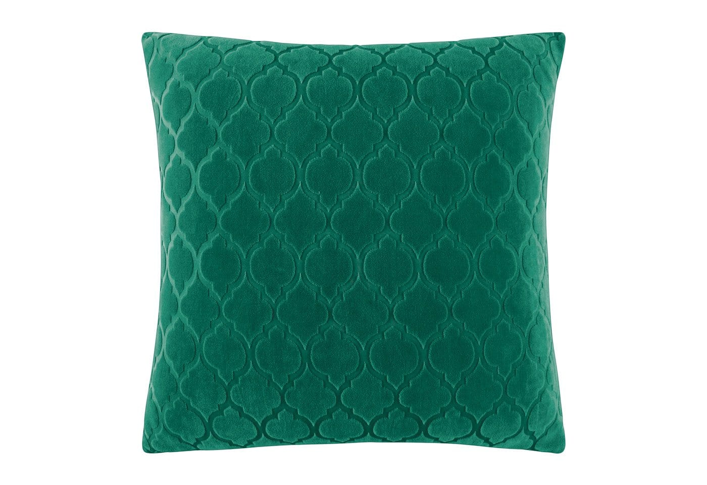 Stretch Grand Marrakesh 18 Inch Square Pillow Cover - 18 x 18 / Emerald Green