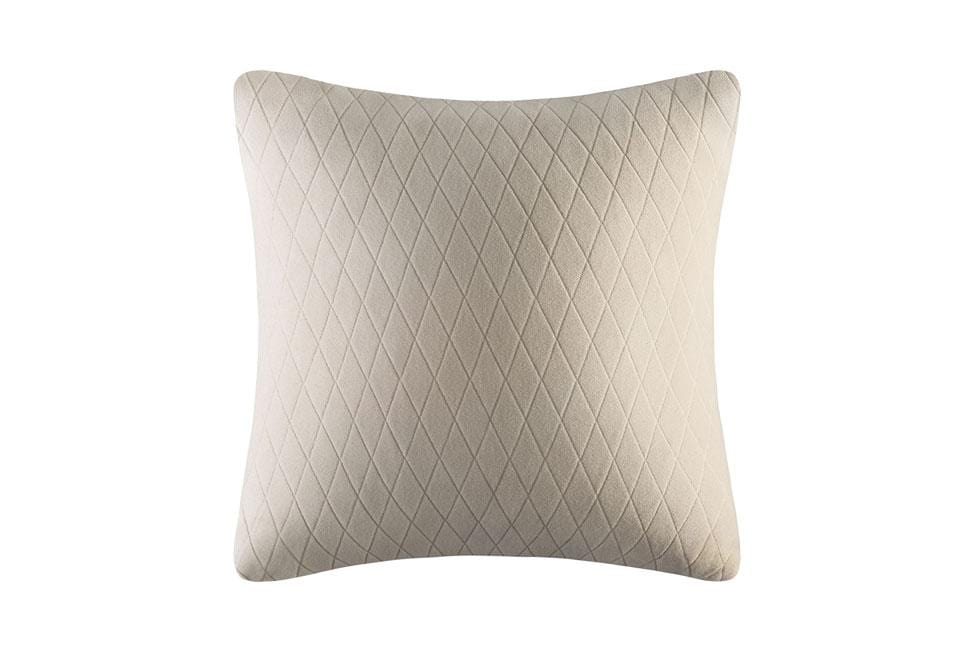 Stretch Lattice 18 Inch Square Pillow Cover