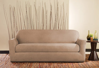 Ultimate Stretch Leather Slipcover | SureFit