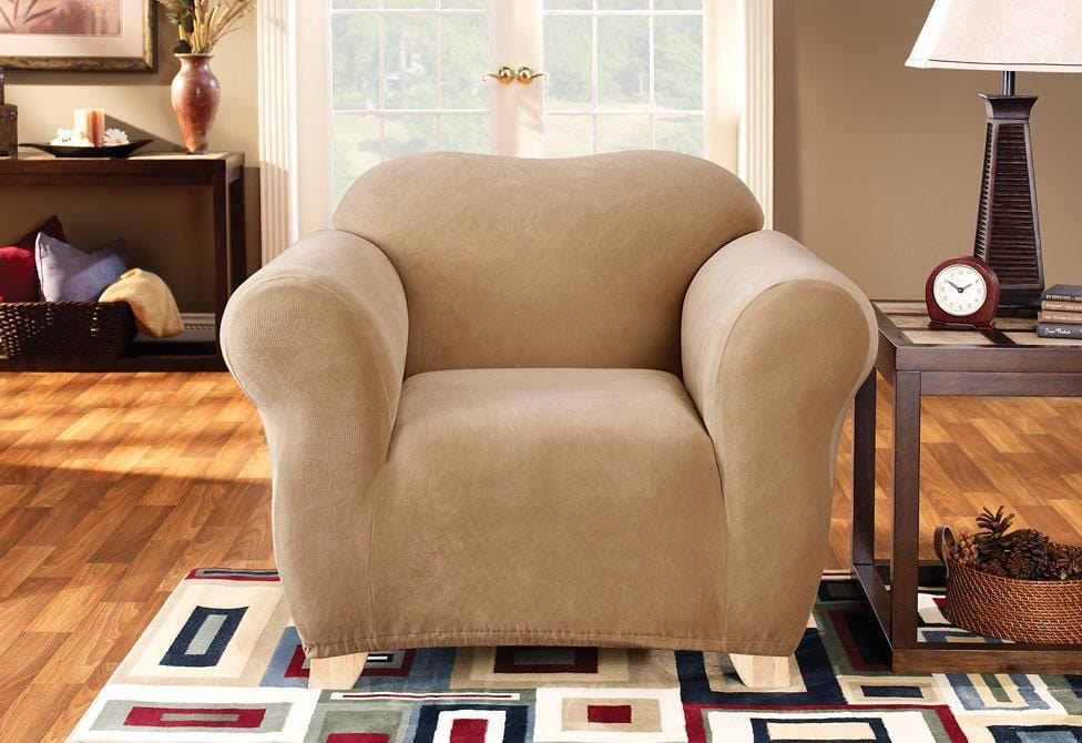 Stretch Pearson One Piece Chair Slipcover