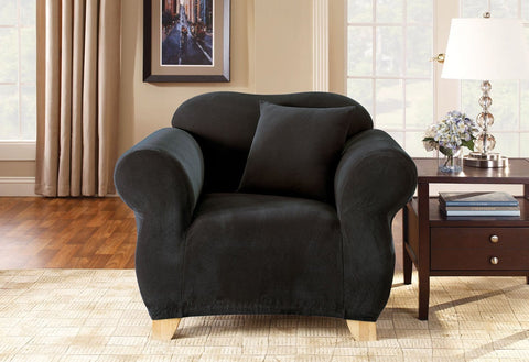 Stretch Pique One Piece Chair Slipcover
