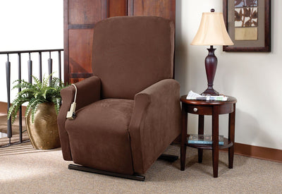 Surprising Recliner Slipcovers Chair Covers For Recliners Recliner Ibusinesslaw Wood Chair Design Ideas Ibusinesslaworg