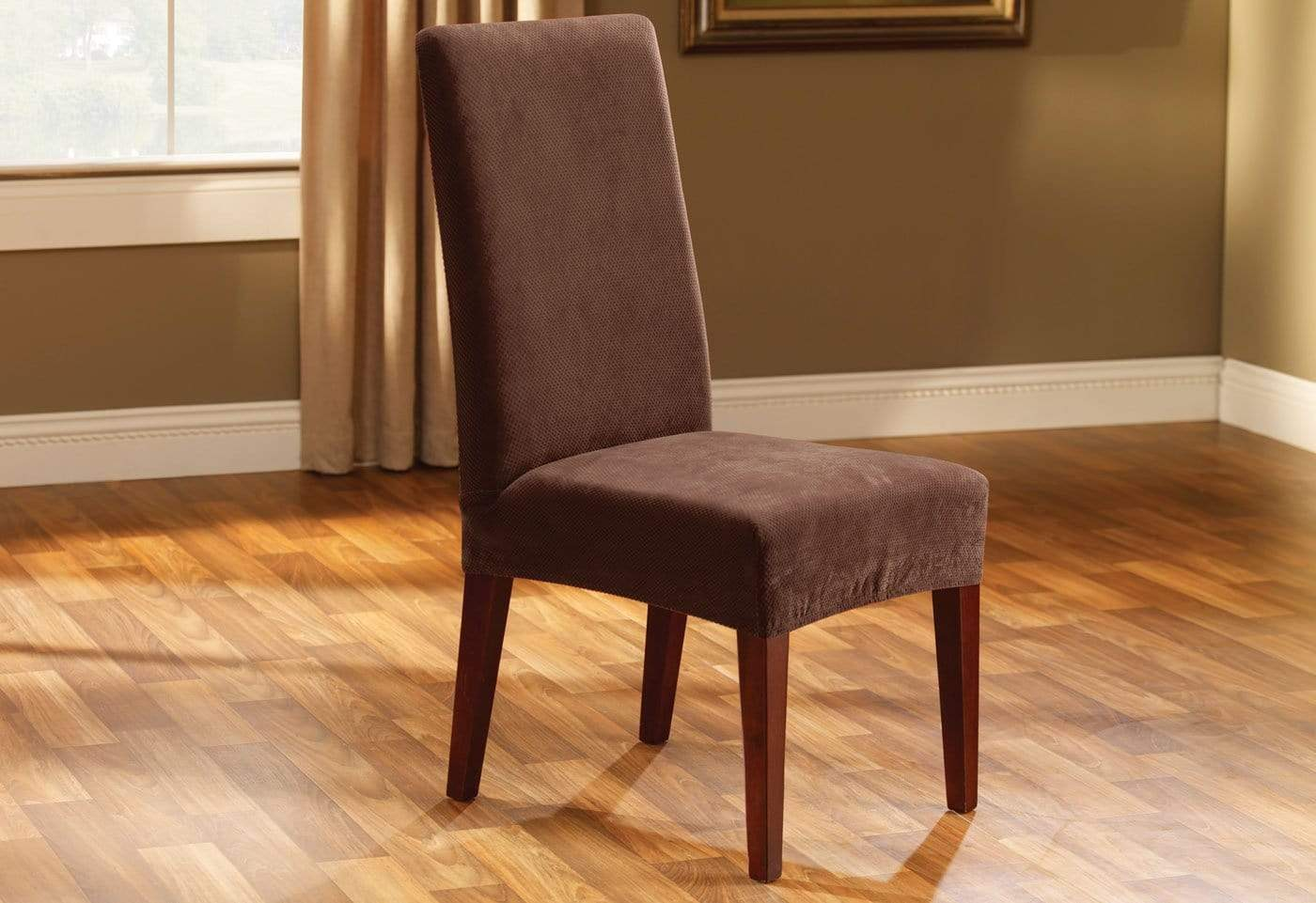 slipcovers stretch for wing design on lovely dining uncategorized parsons ideas double home size covers chair slip stylish slipcover a diamond sew with full of