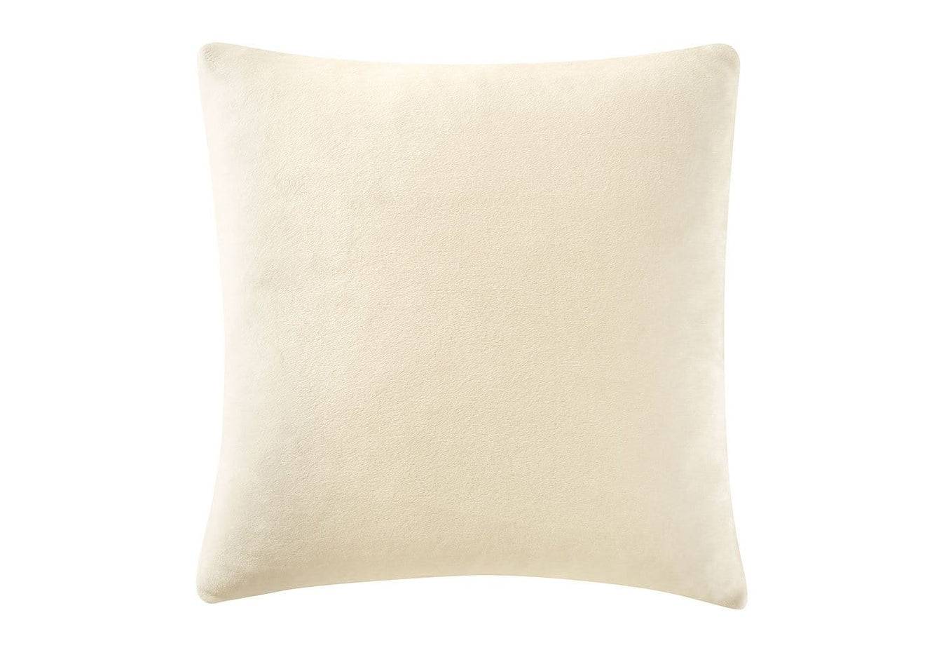 Stretch Plush 18 Inch Square Pillow Cover