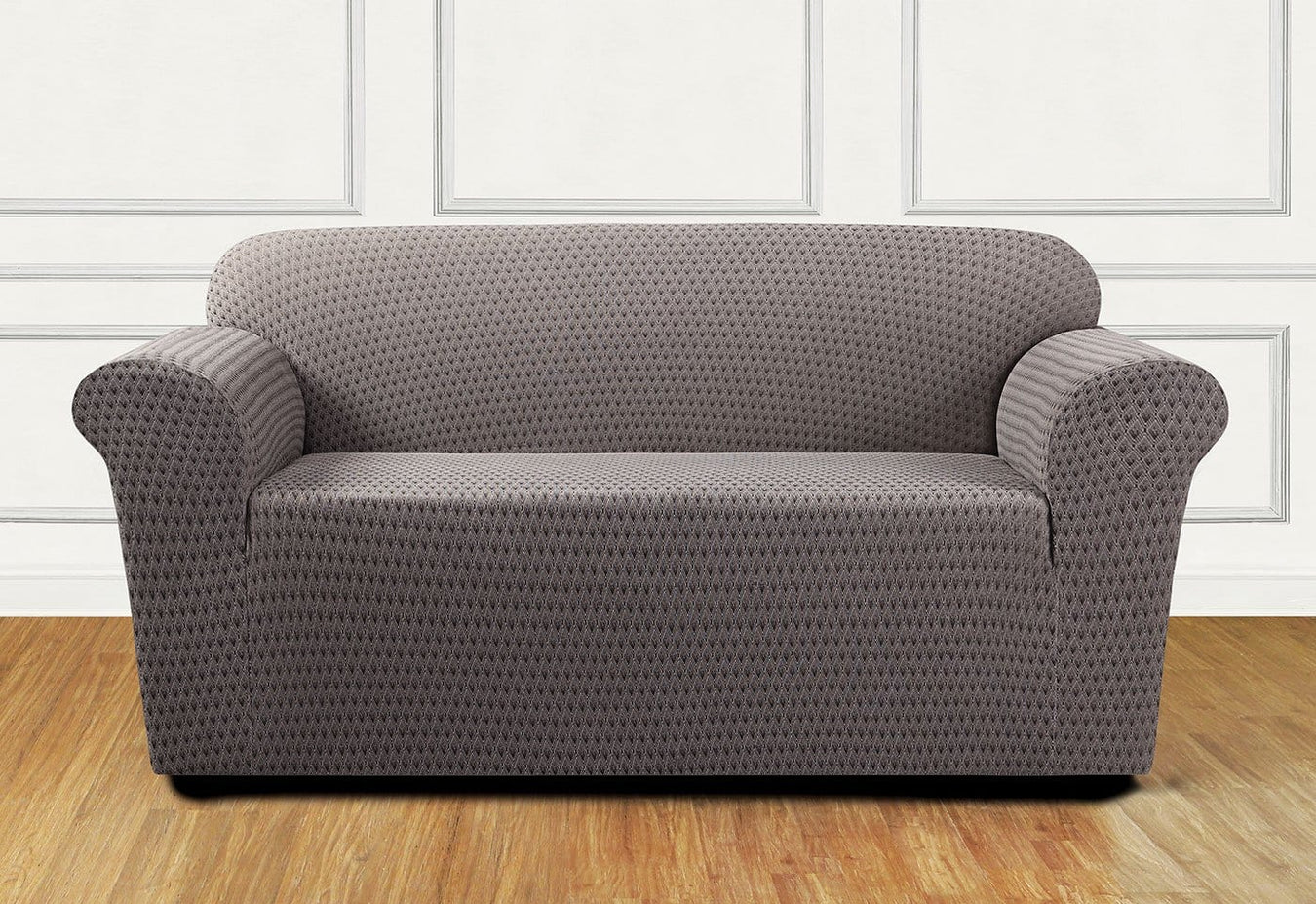 Stretch Sonya One Piece Loveseat Slipcover