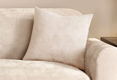 Stretch Suede 18 Inch Square Coordinating Pillow