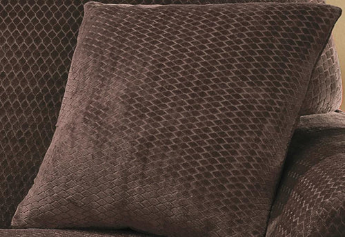 Stretch Royal Diamond 18 Inch Square Coordinating Pillow