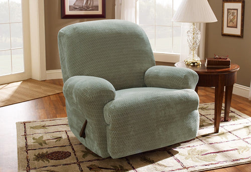 Stretch Royal Diamond One Piece Recliner Slipcover