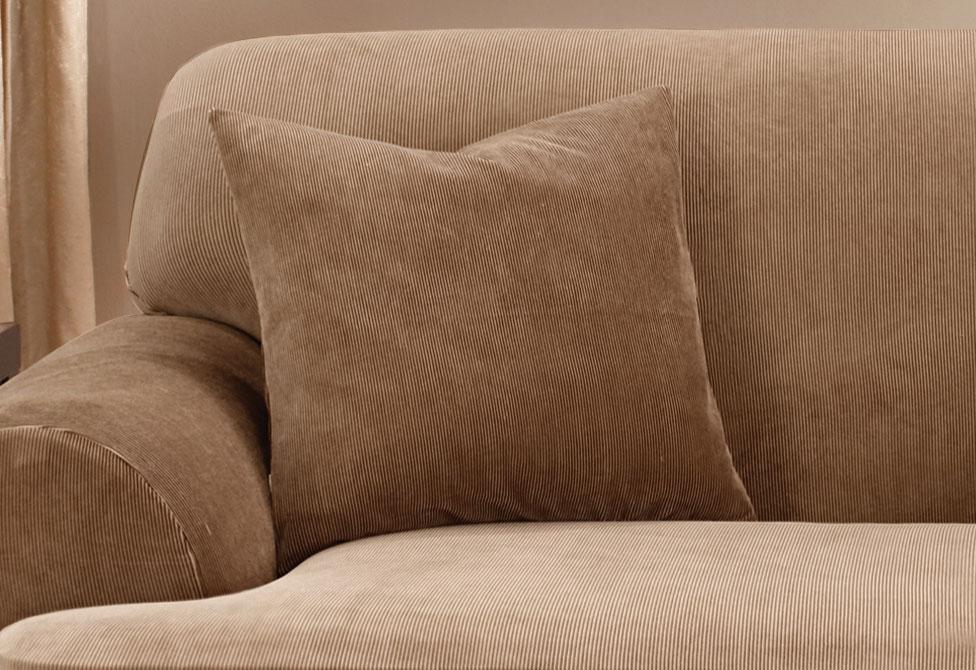 Stretch Stripe 18 Inch Square Coordinating Pillow