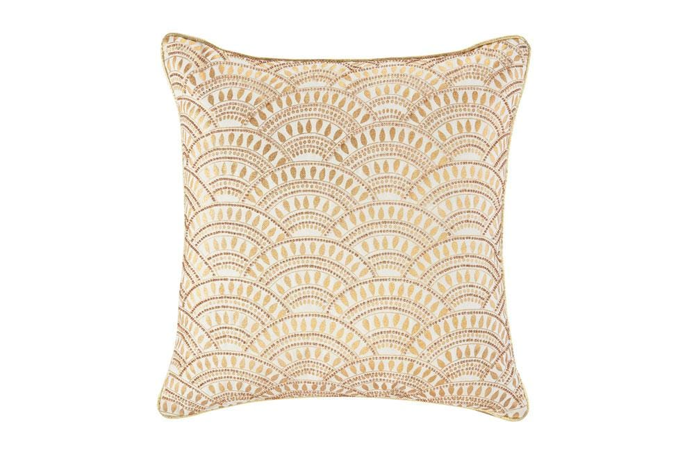 Tazzy 18 Inch Square Decorative Pillow