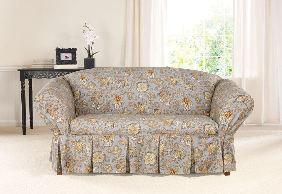 Tennyson By Waverly One Piece Loveseat Slipcover Surefit