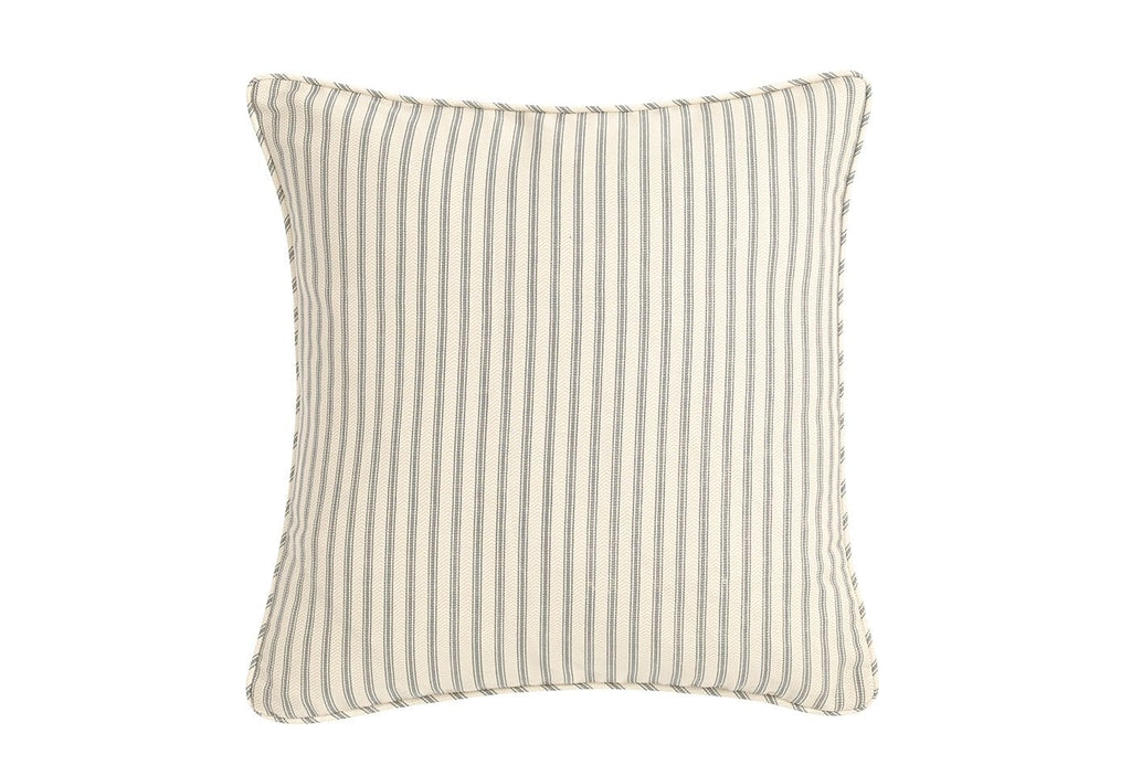 Ticking Stripe 18 Inch Square Pillow Cover Surefit