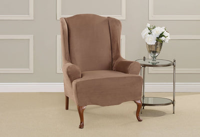 Wondrous Slipcovers For Wingback Chairs Wing Chair Covers Gmtry Best Dining Table And Chair Ideas Images Gmtryco