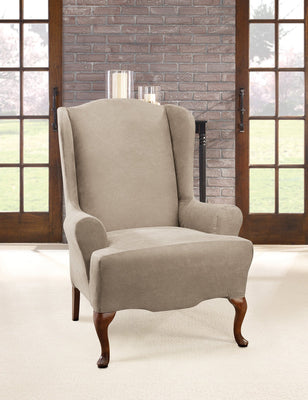 Amazing Slipcovers For Wingback Chairs Wing Chair Covers Gmtry Best Dining Table And Chair Ideas Images Gmtryco