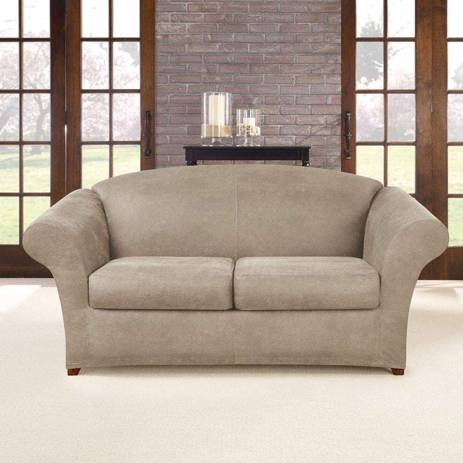 Astonishing Ultimate Heavyweight Stretch Leather Three Piece Loveseat Short Links Chair Design For Home Short Linksinfo