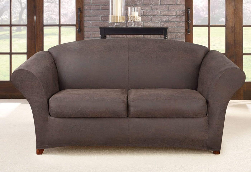Ultimate Heavyweight Stretch Leather Three Piece Sofa ...