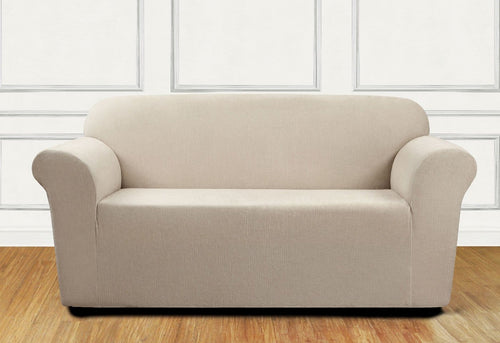 Ultimate Stretch Chenille One Piece Loveseat Slipcover