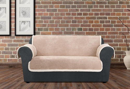Vintage Leather Loveseat Furniture Cover