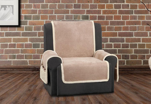 Vintage Leather Recliner Furniture Cover