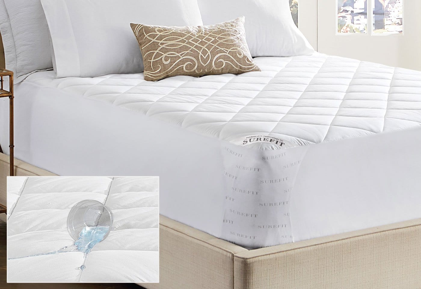 Durasoft Waterproof Mattress Pad - Twin