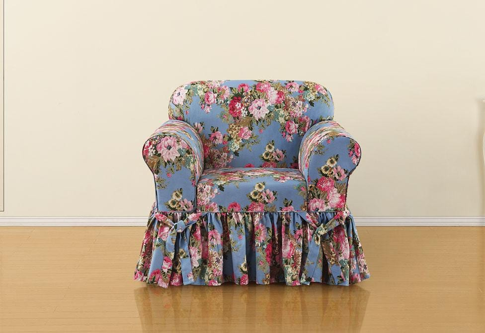 Juliet By Waverly One Piece Chair Slipcover