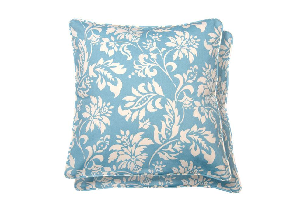 Wexford Lagoon  Two Pack 18 inch square Decorative Pillow