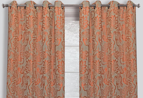 Yacon Floral Window Curtains