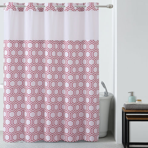 Hookless Shower Curtains | Shower Hooks | Shower Curtain ...
