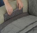 Miracle Mink Loveseat Furniture Protector | Waterproof | Pockets | Tucking Tools