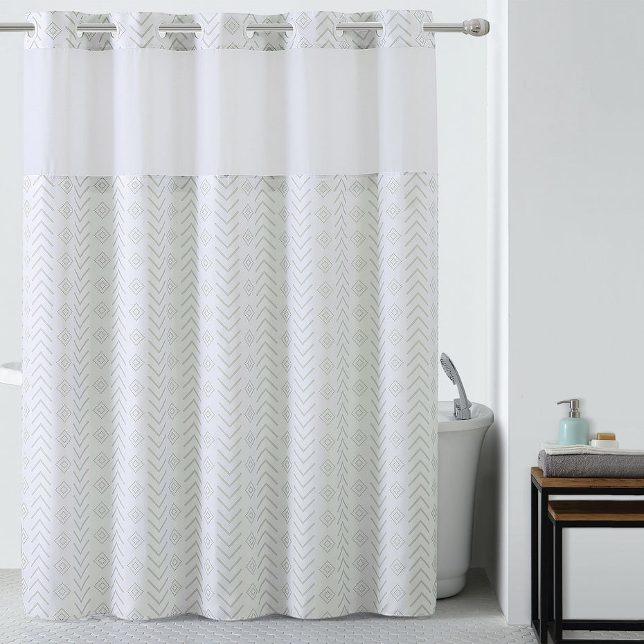 Tribal Hookless® Shower Curtain