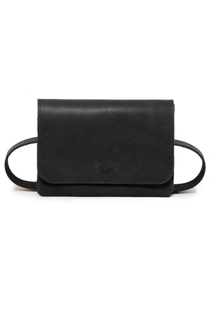 Able - Mare Belt Bag - Black - Front