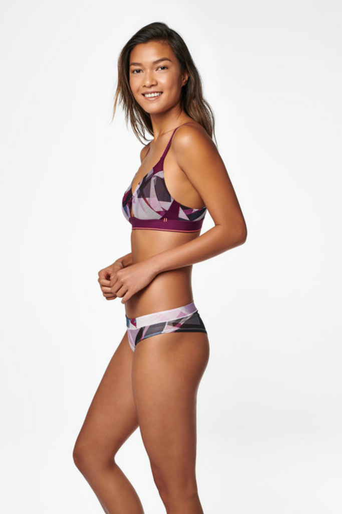 Stance - Cheeky Sheer - Plum - Side