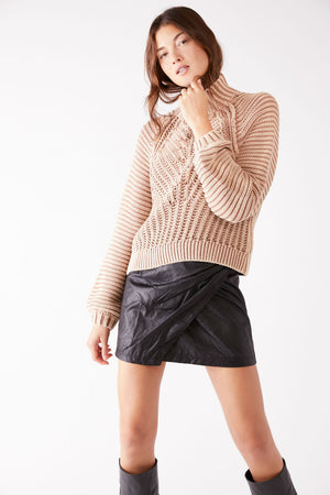 Free People - Sweetheart Sweater - Sand Castle