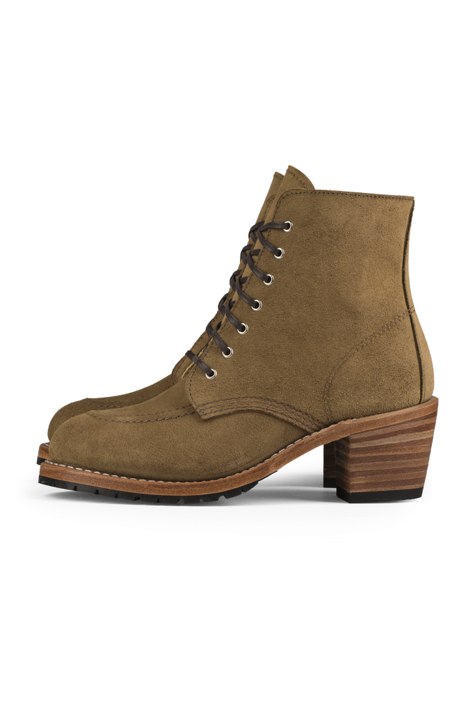 Red Wing Heritage - Clara Boot - Olive Mohave - Side