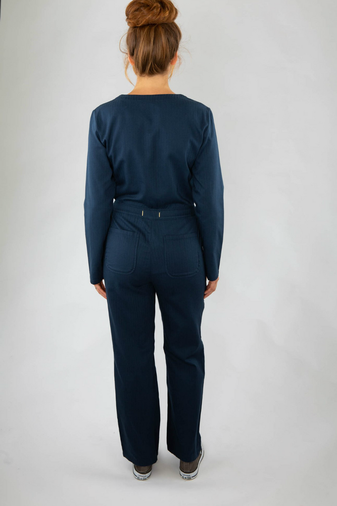 Roamers - Madryn Coveralls - Cool Navy - Back