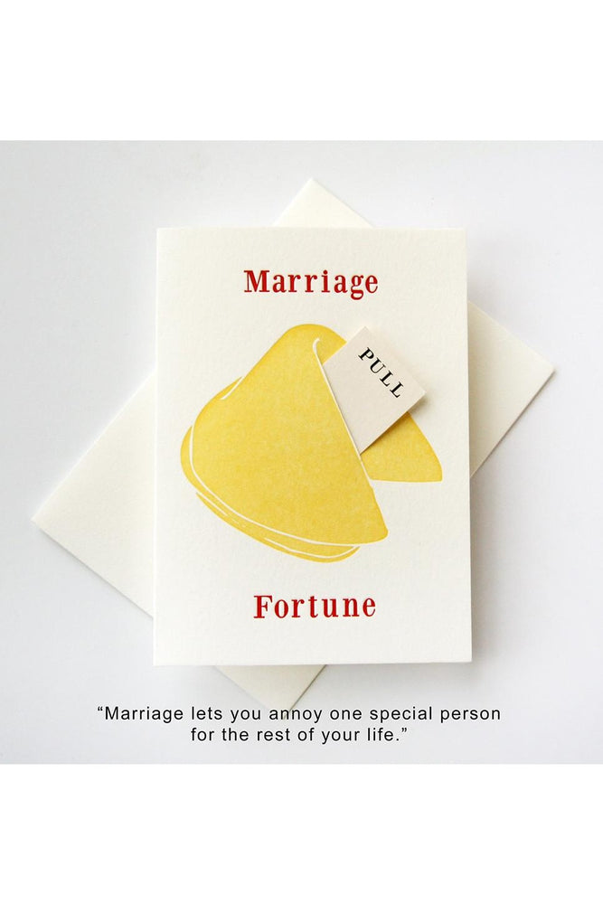 FORTUNE MARRIAGE CARD