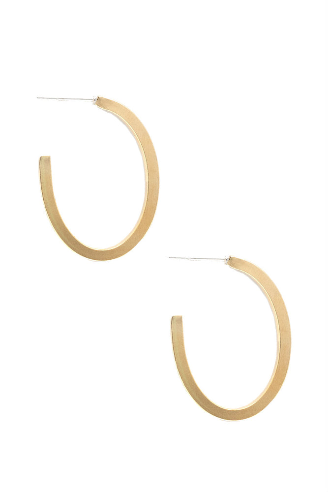 MUSE HOOP EARRING Gold