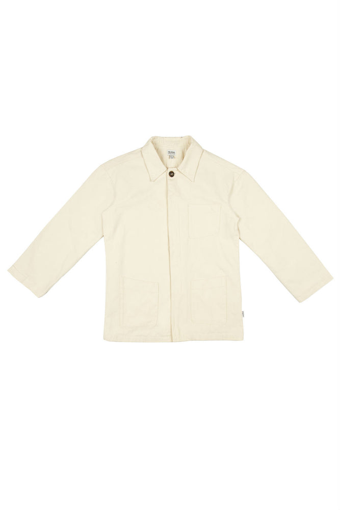 Rhythm - Chore Coat - White - Front