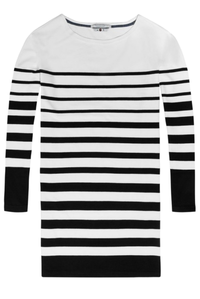 Scotch and Soda - Breton Stripe Dress - Stripe