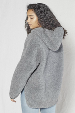 Outerknown - Seaside Sherpa Poncho - Heather Grey