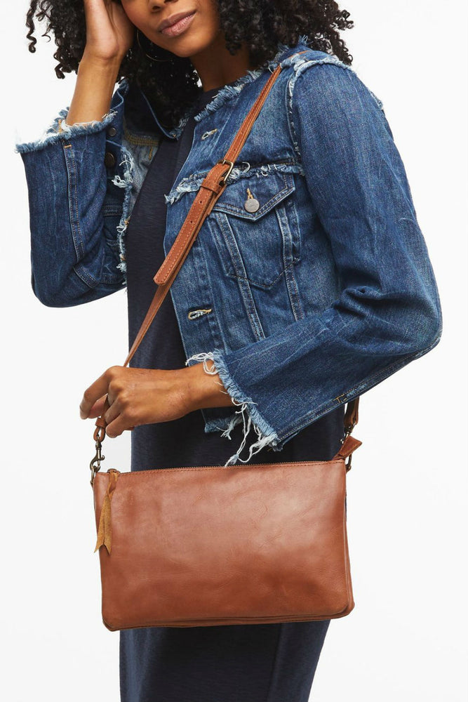Able - Martha Crossbody - Whiskey - Inside